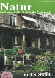 Grazer Innenhöfe - Natur