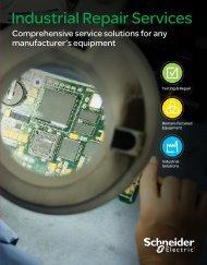 Industrial Repair Services - Schneider Electric