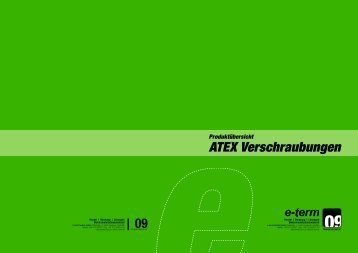 ATEX Verschraubungen - e-term