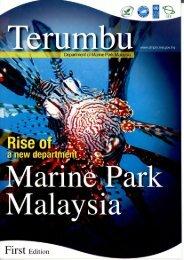 Majalah Terumbu - Volume 1 - Jabatan Taman Laut Malaysia - NRE
