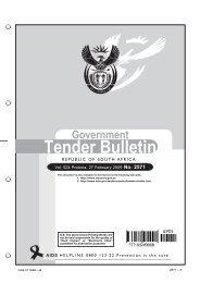 Bcmm tenders dating