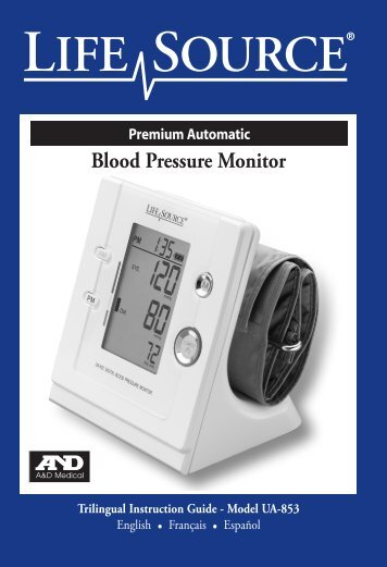 Premium Automatic Blood Pressure Monitor - A&D Medical