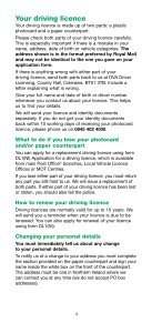 Information on driving licences - NIDirect - Page 3