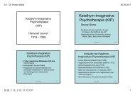 Katathym-Imaginative Psychotherapie (KIP) - Dr. Robert Waldl