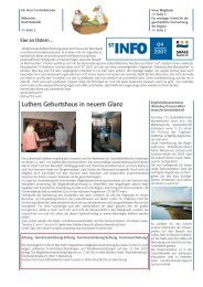 ST-INFO 04/2007 - Förderverein Region Halle (Saale)