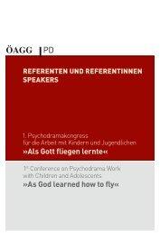 Als Gott fliegen lernte« »As God learned how to fly« - IPSR