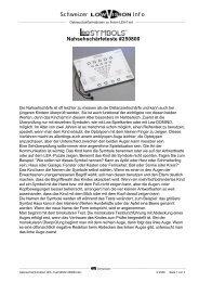 Nahsehschärfeteste #250800 - Schweizer Optik