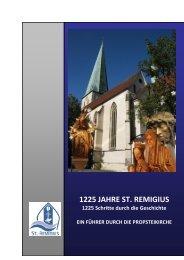 1225 JAHRE ST. REMIGIUS - Propsteigemeinde St. Remigius Borken