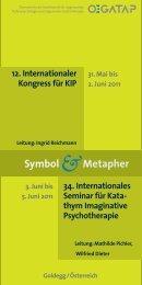 Goldegg / Österreich 12. Internationaler Kongress für KIP 34 ... - sagkb