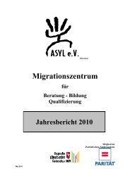 Bildung Qualifizierung Jahresbericht 2010 - asyl ev hildesheim