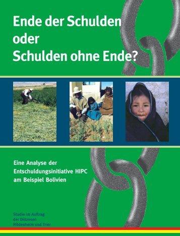 Drucken Studie Bolivien - Bistum Hildesheim