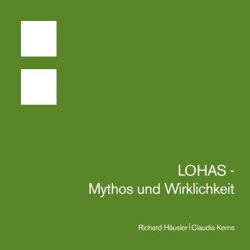 LOHAS - Mythos und Wirklichkeit - stratum
