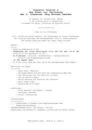 Szenario Version 4 des Event zur Verleihung der 5. Schweizer «Big ...