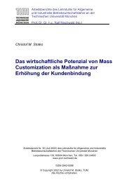 R - Lehrstuhl für Allgemeine und Industrielle ...