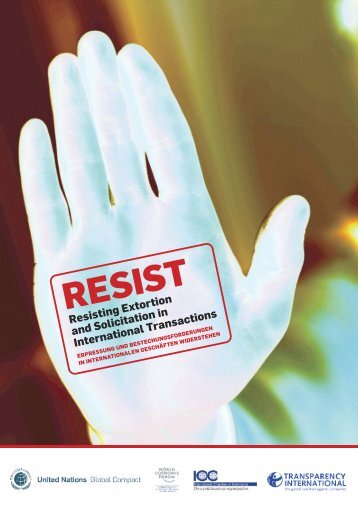 Vollversion von RESIST - Transparency International