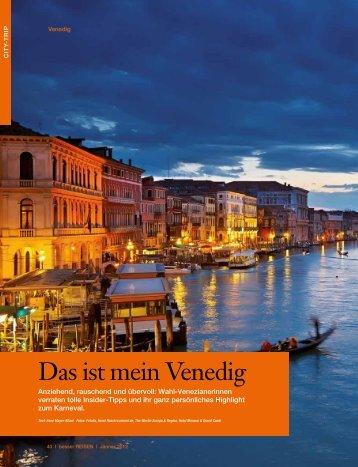 Das ist mein Venedig, aus: besser REISEN 1