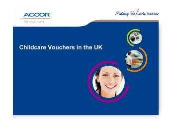 Childcare Vouchers in the UK