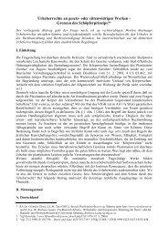 Urheberrechte an gesetz- oder sittenwidrigen Werken - Eurolawyer.at