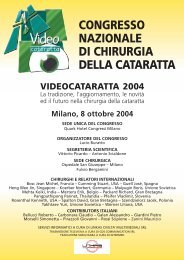 Milano, 8 ottobre 2004 CONGRESSO NAZIONALE ... - Medicongress