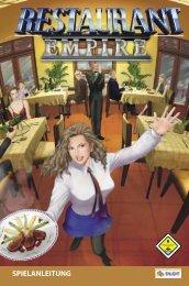 Restaurant Empire Tastaturkürzel