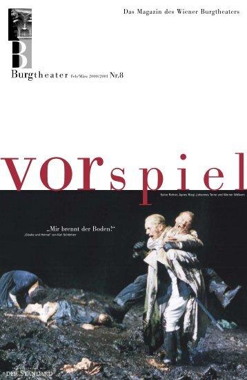Der Auftrag. - Burgtheater