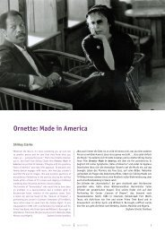 Ornette: Made in America - Arsenal