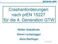 GTW Arriva Crash Analyse - Schienenfahrzeugtagung Graz