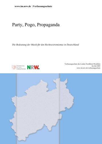 Party, Pogo, Propaganda - MIK NRW - Landesregierung Nordrhein ...