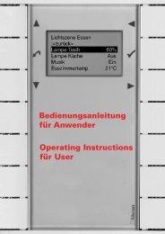 Bedienungsanleitung für Anwender Operating Instructions ... - Merten