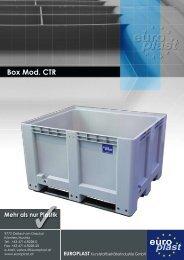 Box Mod. CTR - Europlast