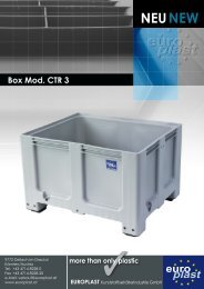 Box Mod. CTR 3 - Europlast