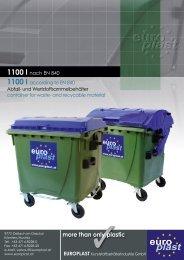 1100 l - Europlast