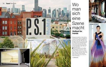 Wo man sich eine Szene macht - Lufthansa Media Lounge: Home