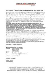 Pressetext 11. September 2009 als PDF - HOT DRAGON