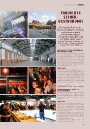 FORUM DER SZENEN- GASTRONOMIE - Barzone.de