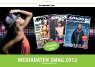 MEDIADATEN SMAG 2012 - Mediengruppe Stegenwaller