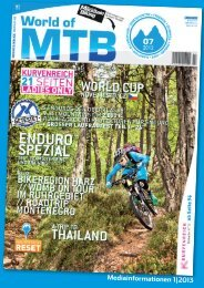 Mediainformationen 1|2013 - World of MTB
