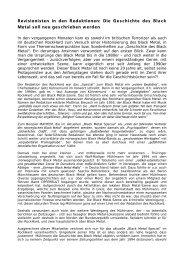 Revisionisten in den Redaktionen: Die Geschichte ... - Ablaze Magazin