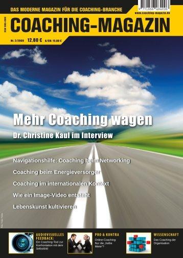 Online-Coaching - Coaching-Magazin