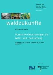 Trend-Screening: Szenarien im Bezug auf den Forst-Holz-Sektor