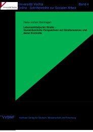 Sozialräumliche Perspektiven auf ... - Universität Vechta