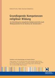 Grundlegende Kompetenzen religiöser Bildung - Comenius-Institut ...