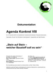 Agenda Konkret VIII - Agenda-wuerselen.de