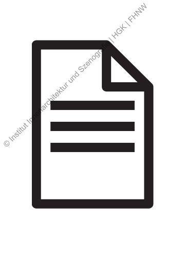 partitur pia hönger - institut innenarchitektur und szenografie, Innenarchitektur ideen