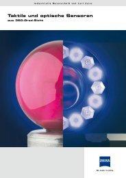 Taktile und optische Sensoren - TUKE