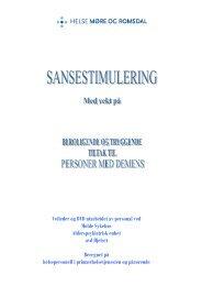 Veileder og DVD utarbeidet av personal ved Molde Sykehus ...