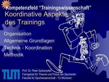 Koordinative Aspekte des Trainings (P. Spitzenpfeil) (pdf) - FSSport.de