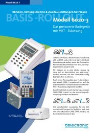 BASIS -ROLLOUT Modell 6020-3 - Celectronic