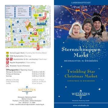 Sternschnuppen Markt - Landeshauptstadt Wiesbaden