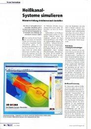 Heisskanalsysteme simulieren Kunststoff Magazin - SIGMA ...